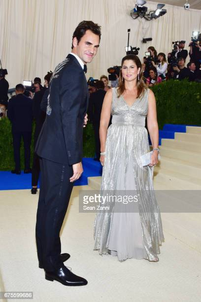 rei kawakubocomme des garcons art of the in between costume institute gala arrivals roger federer