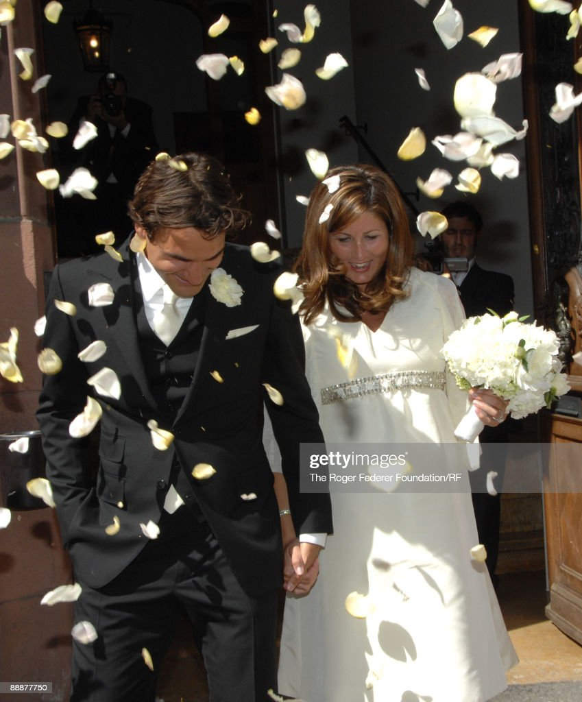 The Wedding Of Roger Federer And Mirka Vavrinec Photos and Images