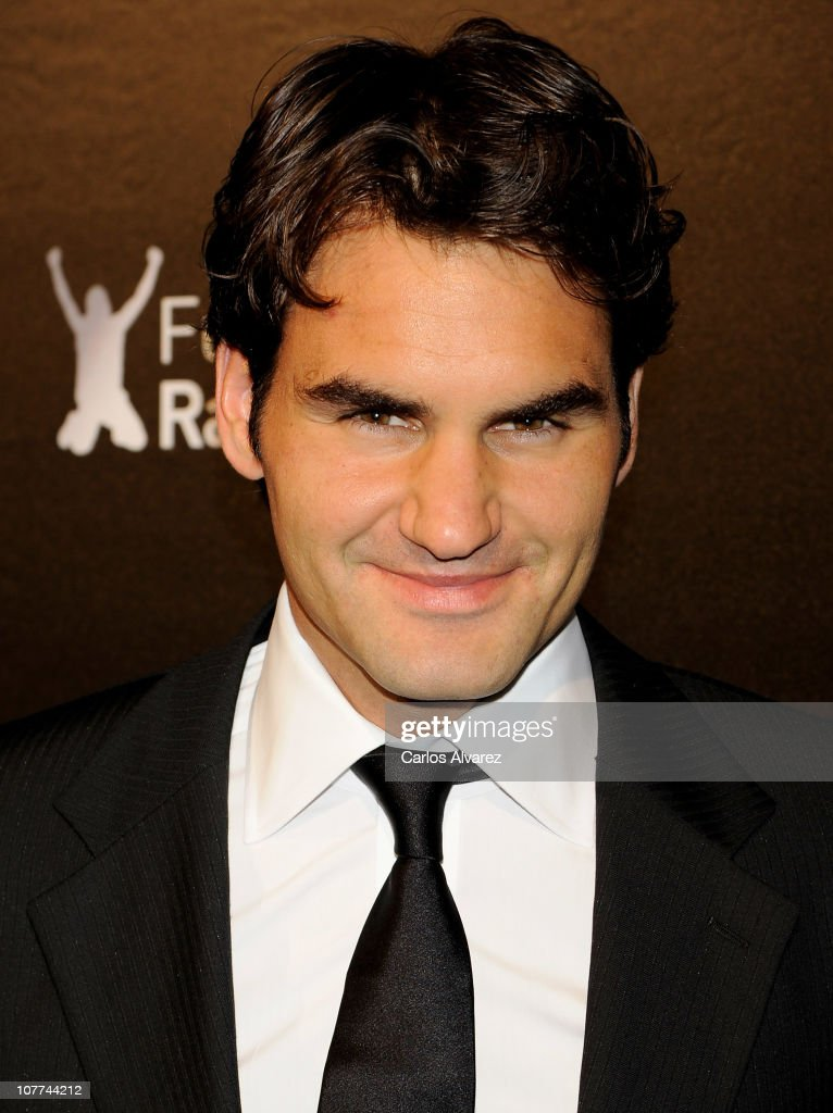 <a gi-track='captionPersonalityLinkClicked' href=/galleries/search?phrase=Roger+Federer&family=editorial&specificpeople=157480 ng-click='$event.stopPropagation()'>Roger Federer</a> attends 'Rafa Nadal Foundation' Charity Gala at Cibeles Palace on December 22, 2010 in Madrid, Spain.