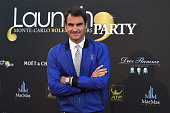 Roger Federer of Switzerland attends the Launch Party at Zelo's Monaco during preview day of the ATP Monte Carlo Masters at the MonteCarlo Country...