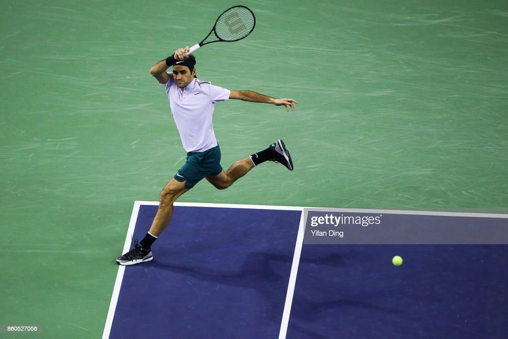 2017 ATP 1000 Shanghai Rolex Masters - Day 5 : News Photo
