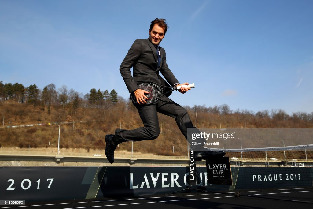 Roger Federer Launches The Laver Cup