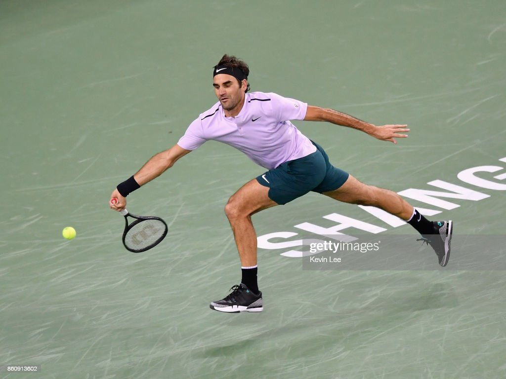 2017 ATP 1000 Shanghai Rolex Masters - Day 6 : News Photo