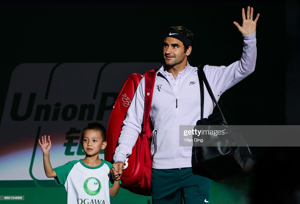 2017 ATP 1000 Shanghai Rolex Masters - Day 4 : News Photo