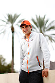 Roger Federer of Switzerland talks to the media during day three of the BNP Paribas Open tennis at the Indian Wells Tennis Garden on March 11 2015 in...