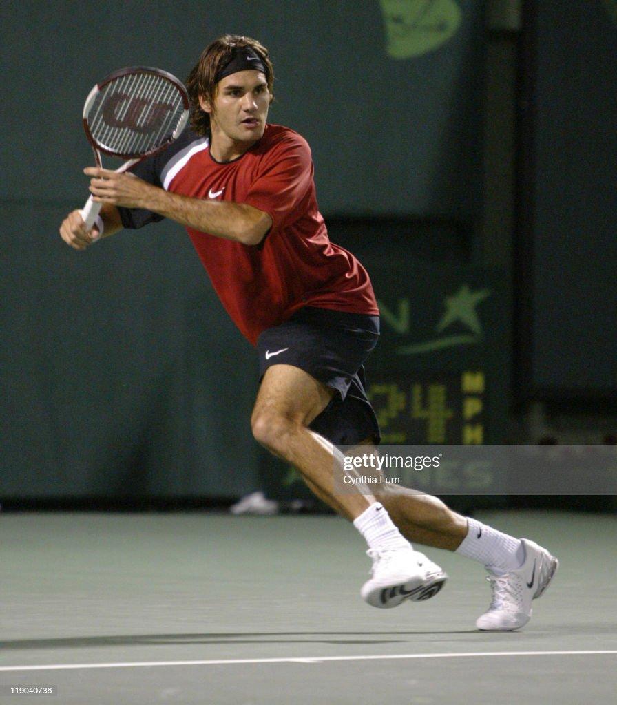 Nasdaq-100 Open - Roger Federer vs Mariano Zabaleta - March 28, 2005