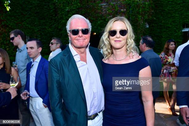 Roger Ferris and Wendy Ferris attend Maison Gerard Presents Marino di Teana A Lifetime of Passion and Expression at Michael Bruno and Alexander...