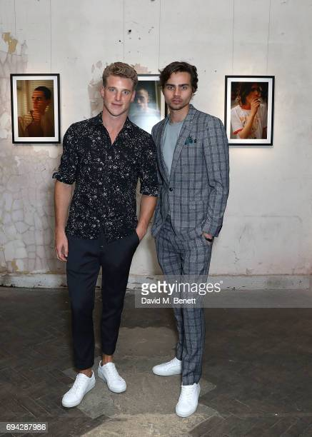 Roger Frampton and Tom York attend 'TOPMAN DESIGN Presents Transition' for LFWM at The Truman Brewery on June 9 2017 in London England