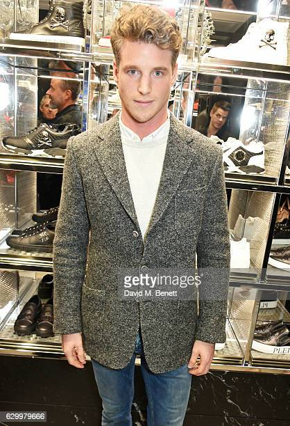 Roger Frampton attends a cocktail party hosted by Philipp Plein to celebrate the opening of the Philipp Plein London boutique on December 15 2016 in...