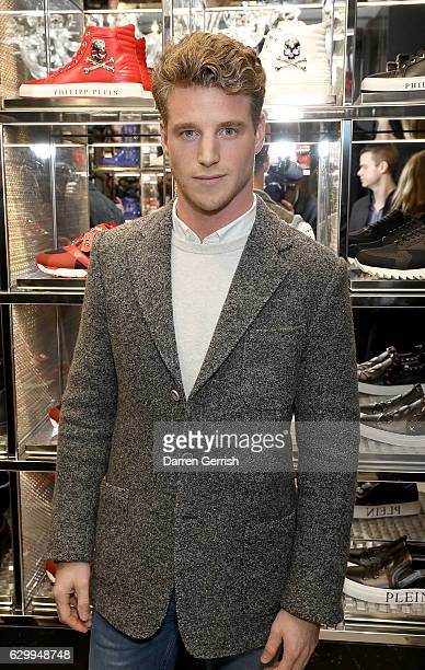 Roger Frampton attends a cocktail party to celebrate the opening of the Philipp Plein London Boutique on December 15 2016 in London England