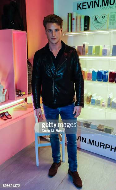 Roger Frampton attends an exclusive preview of Ryan Barrett's new collection at Wonderland on March 22 2017 in London England
