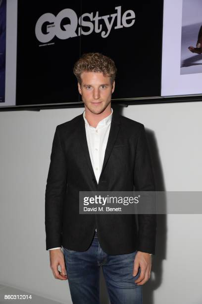 Roger Frampton attends the launch of the GQ Style Autumn/Winter issue at 18montrose Kings Cross on October 11 2017 in London England