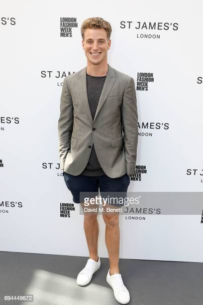 Roger Frampton attends the LFWM S/S 17 St James's show on Jermyn Street on June 10 2017 in London England