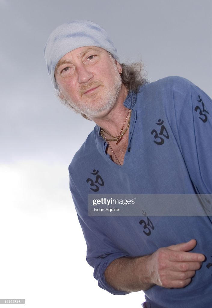 Roger Glover of Deep Purple during Roger Glover of Deep Purple portrait session in Kansas City, Missouri, United States.