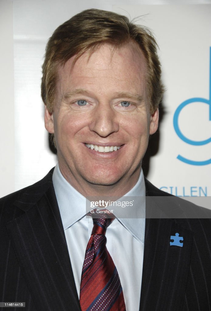 <a gi-track='captionPersonalityLinkClicked' href=/galleries/search?phrase=Roger+Goodell&family=editorial&specificpeople=744758 ng-click='$event.stopPropagation()'>Roger Goodell</a>, NFL commissioner during Kickoff for a Cure II Benefit Gala at The Waldorf=Astoria in New York City, New York, United States.