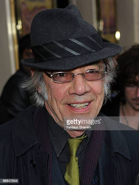Roger Lloyd Pack attends the press night for 'Sweet Charity' at Theatre Royal on May 4 2010 in London England