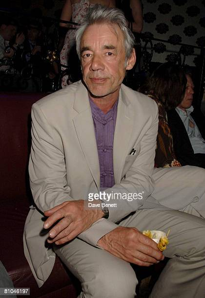 Roger Lloyd Pack attends the 'That Face' After Party at Stuidio Valbone Night Club on 9 May 2008 in London England