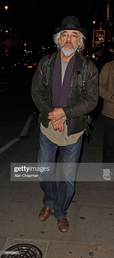 Roger Lloyd Pack sighting in Shaftesbury Avenue on November 14, 2012 in London, England.