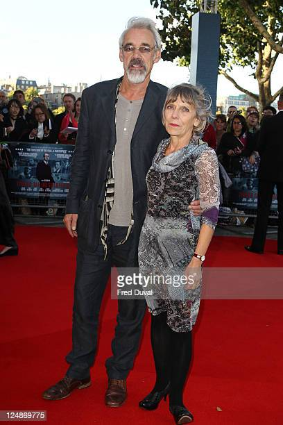 Roger LloydPack and guest attend the UK premiere of 'Tinker Tailor Soldier Spy' at BFI Southbank on September 13 2011 in London England