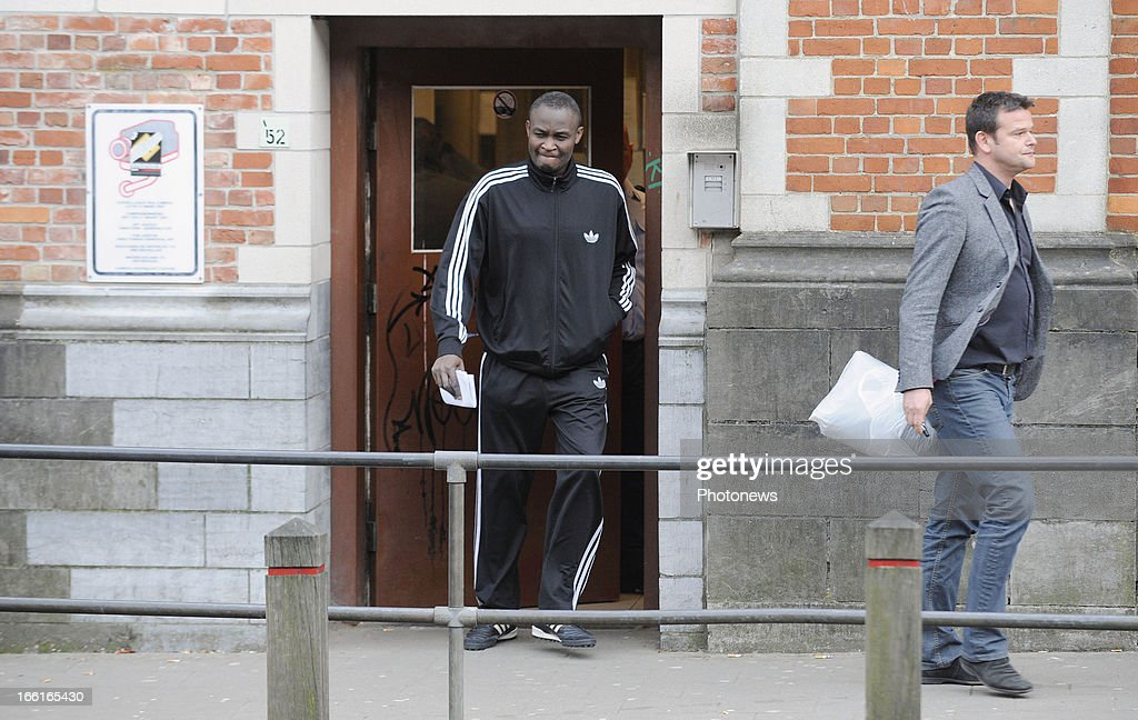 Roger Lukaku is released from jail on April 08, 2013 in Brussels, Belgium. Lukaku, the father of West Bromwich player Romelu Lukaku and RSC Anderlecht player Jordan Lukaku, was released from jail ahead of a further trial on April 15. According to reports, Romelu Lukaku is fighting to release his father Roger from a Belgian prison after he was sentenced to 15 months in jail for assaulting a female and keeping her in the boot of his car. The father of the Chelsea striker, currently on loan at West Bromwich Albion, was stunned by the verdict after failing to attend the trail and claimed that the woman, a former lover, had invented the story.