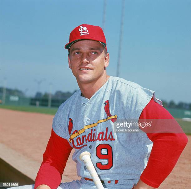 Roger Maris of the St Louis Cardinals poses for a portrait circa 19671968