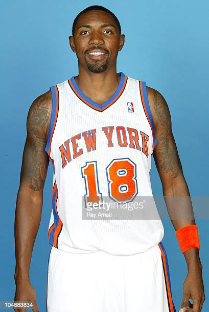 Roger Mason Jr #18 of the New York Knicks poses for a photo during Media Day on September 24 2010 at the MSG Training Center in Greenburgh New York...