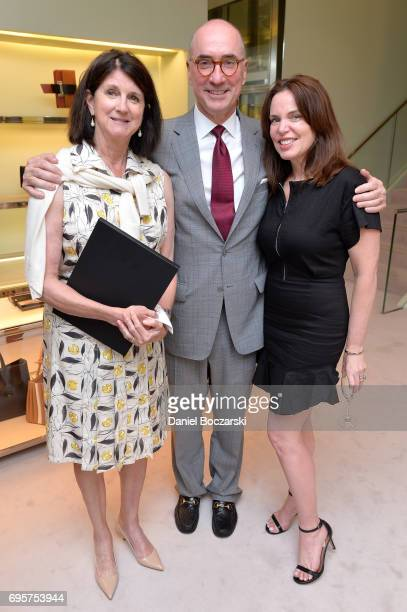 Roger McEniry and guests attend Prada Chicago x University Of Chicago Cancer Research Foundation Event at Prada Chicago on June 13 2017 in Chicago...