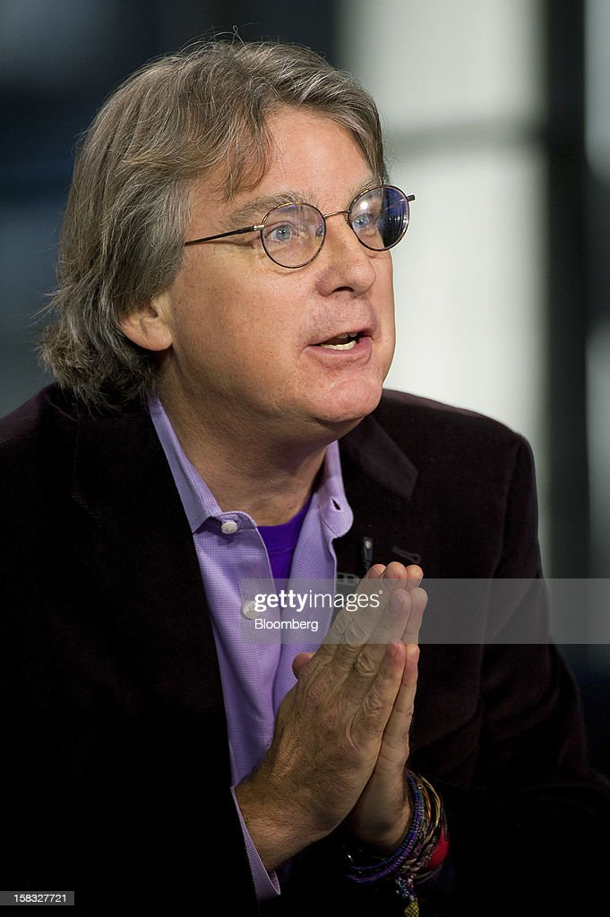 Roger McNamee, managing director and co-founder of Elevation Partners, speaks during an interview on Bloomberg Television in San Francisco, California, U.S., on Wednesday, Dec. 12, 2012. McNamee spoke about innovation and trends in the technology industry and the future of social networking. Photographer: David Paul Morris/Bloomberg via Getty Images