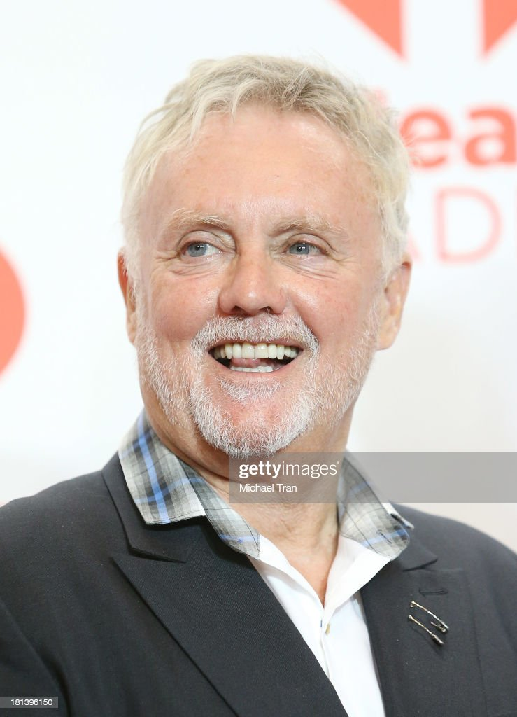 Roger Meddows Taylor of Queen arrives at the iHeartRadio Music Festival - press room held at MGM Grand Arena on September 20, 2013 in Las Vegas, Nevada.
