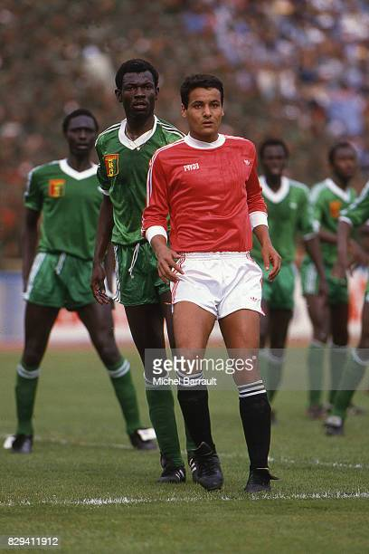 Roger Mendy of Senegal during African Nation cup between Egypt and Senegal on March 7th 1986 in Le Caire Egypt