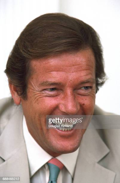 Roger Moore New York 16th June 1981