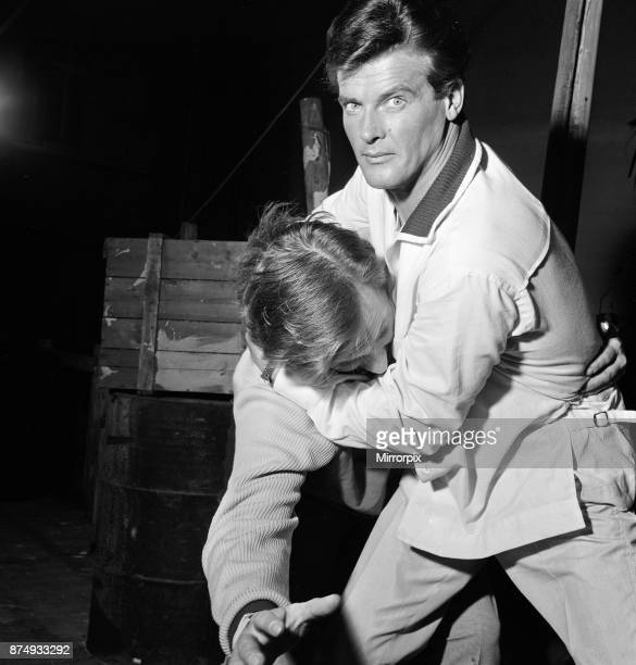 Roger Moore who was once a BBC television studio manager makes his debut on ITV as 'The Saint' the hard hitting adventurer created by Leslie...