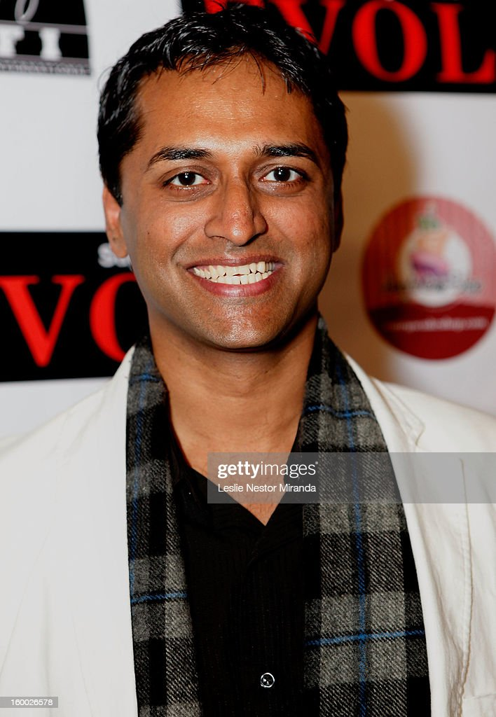 Roger Narayan attends the World Premiere of 'Vishwaroopam' held at Pacific Theaters at the Grove on January 24, 2013 in Los Angeles, California.