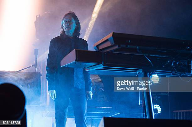 Roger O'Donnell from The Cure performs at AccorHotels Arena on November 15 2016 in Paris France