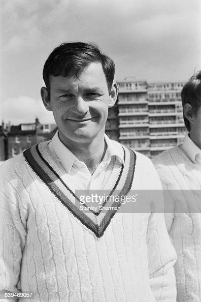 Roger Prideaux of the Sussex County Cricket Club UK 28th April 1971