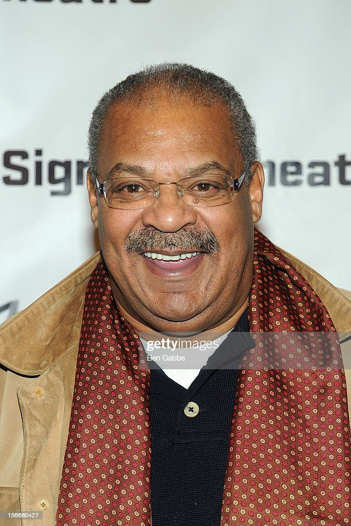 Roger Robinson attends 'The Piano Lesson' Opening Night Party at Signature Theater Company's Peter Norton Space on November 18, 2012 in New York City.