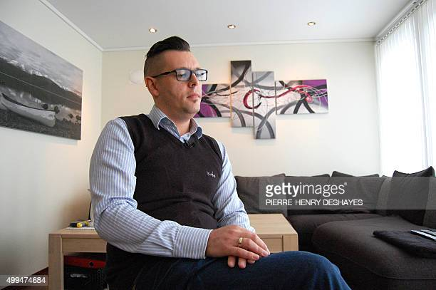Roger Schurmeyer pictured in his flat in Sandnes outisde the southwestern city of Stavanger on November 12 2015 Schurmeyer lost his job when the oil...