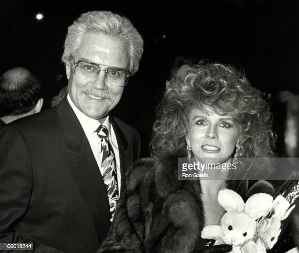 Roger Smith and AnnMargret during 'A New Life' New York Premiere Party at Tavern On The Green in New York New York United States