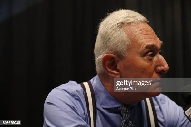 Roger Stone GOP political operative and longtime Donald Trump advisor speaks about the legalization of marijuana at the Cannabis World Congress...