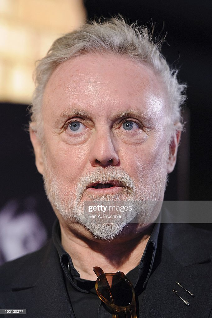 Roger Taylor attends a photocall as Queen are awarded The Heritage award at Imperial College London on March 5, 2013 in London, England.