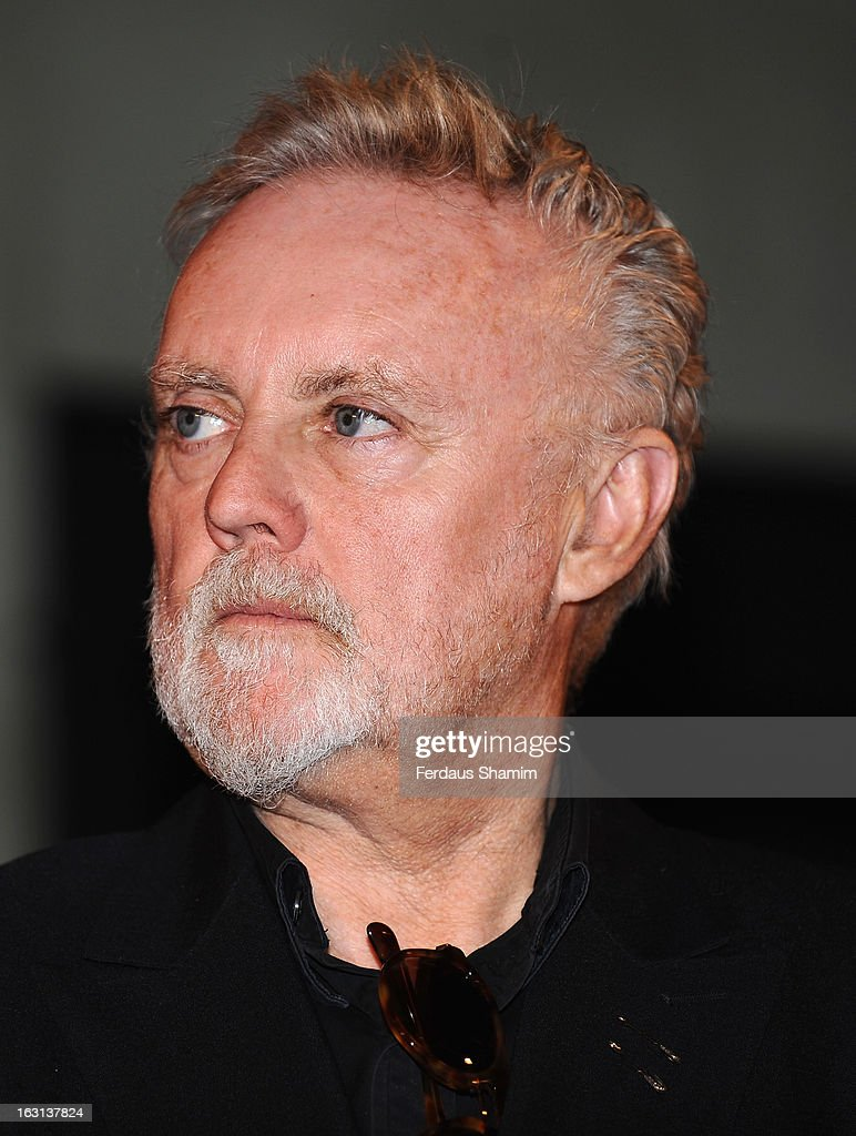 Roger Taylor attends a photocall as Queen are awards The Heritage award at Imperial College London on March 5, 2013 in London, England.