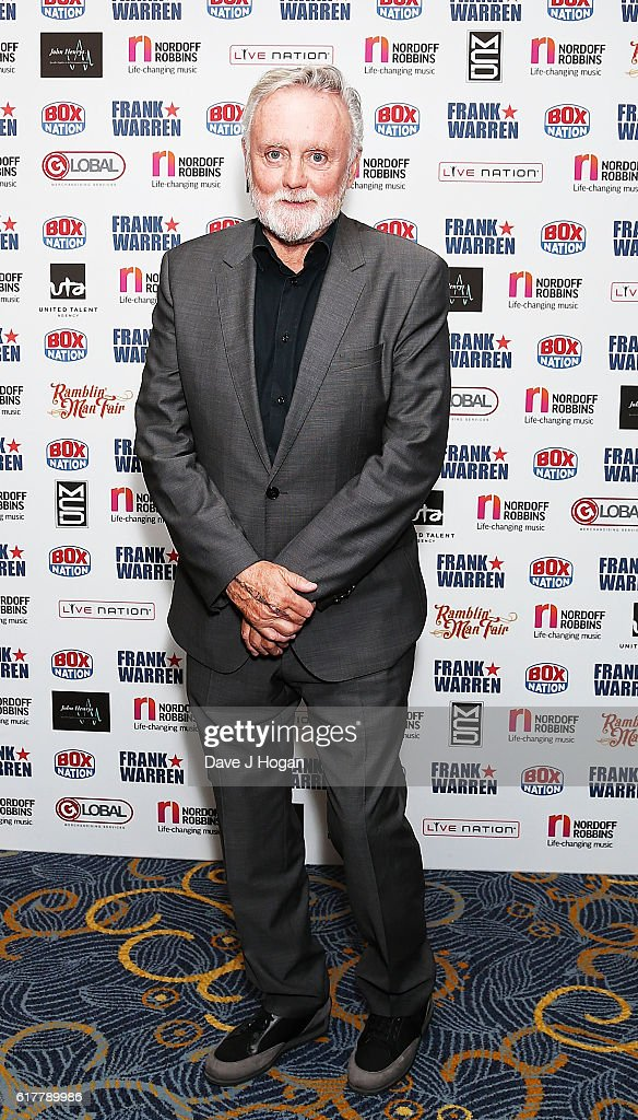 Roger Taylor attends the Nordoff Robbins Boxing Dinner at the London Hilton Park Lane on October 24, 2016 in London, England.