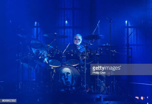 Roger Taylor of Queen Adam Lambert performs at Pepsi Live at Rogers Arena at Pepsi Live at Rogers Arena on July 2 2017 in Vancouver Canada