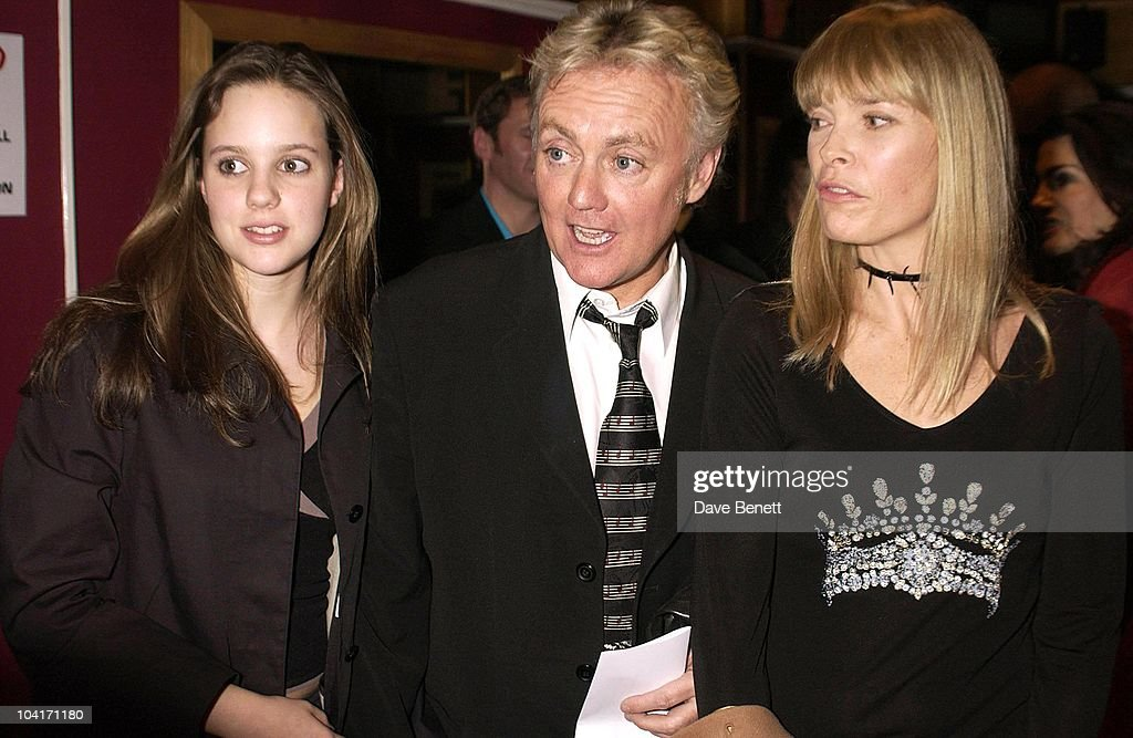Roger Taylor of Queen with Deborah Leng (R) and daughter Rory Eleanor Taylor attend Special Charity Preview Of Boy George's New Musical 'Taboo' In Aid Of The Mercury Phoenix Trust And The Child Welfare Society. At The Venue In Leicester Square, London And Then The Party At Soho House.