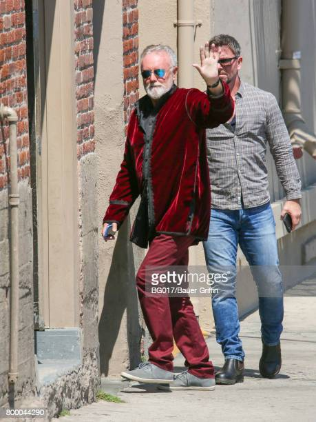 Roger Taylor of the band 'Queen' is seen at 'Jimmy Kimmel Live' on June 22 2017 in Los Angeles California