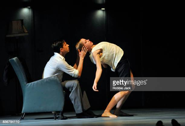 Roger Van der Poel and Lydia Bustdinduy in Nederlands Dans Theatre's production of Gabriela Carrizo's The Missing Door as part of the Edinburgh...