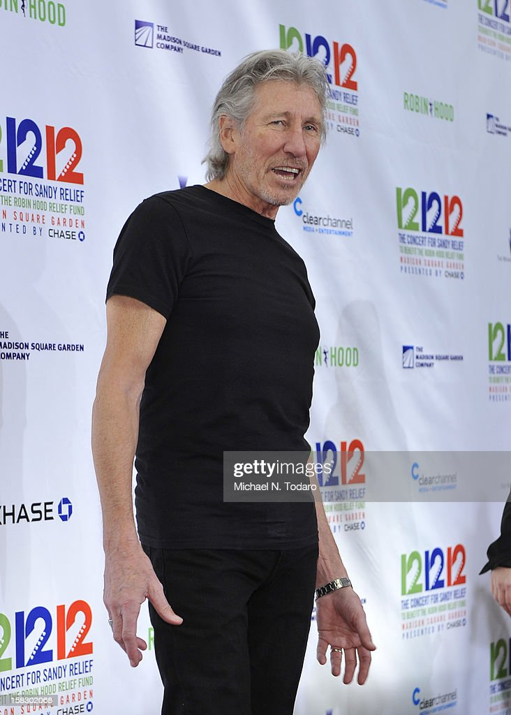 Roger Waters attends 12-12-12 the Concert for Sandy Relief at Madison Square Garden on December 12, 2012 in New York City.