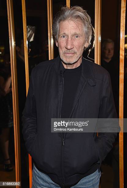 Roger Waters attends Fox Searchlight Pictures with The Cinema Society host a screening of 'Demolition' after party on March 21 2016 in New York City
