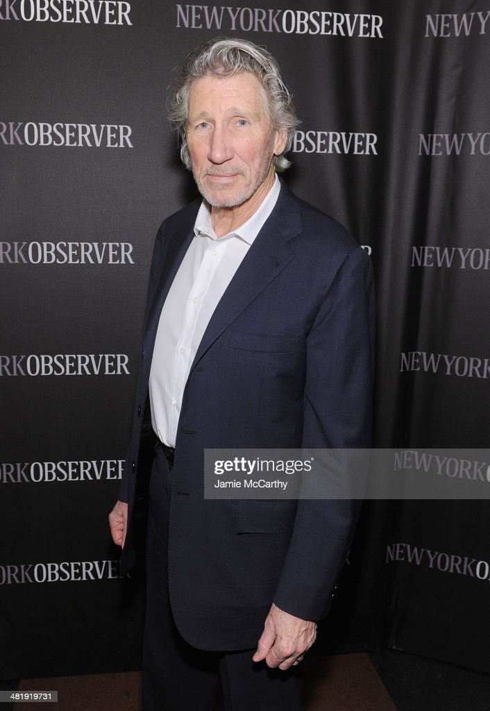 <a gi-track='captionPersonalityLinkClicked' href=/galleries/search?phrase=Roger+Waters&family=editorial&specificpeople=233732 ng-click='$event.stopPropagation()'>Roger Waters</a> attends The New York Observer Relaunch Event on April 1, 2014 in New York City.