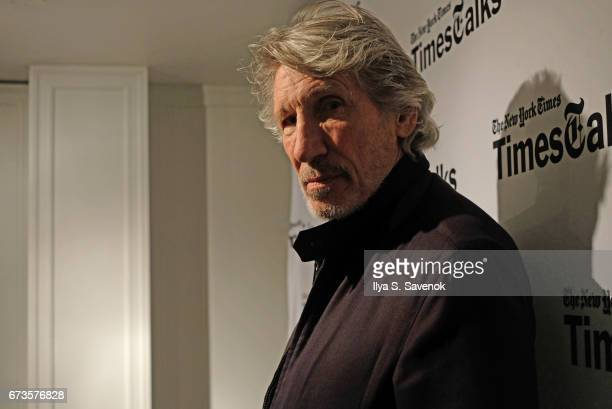 Roger Waters attends TimesTalks Presents Roger Waters at Florence Gould Hall on April 26 2017 in New York City